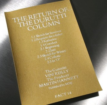 FACT 14c The Return of The Durutti Column
